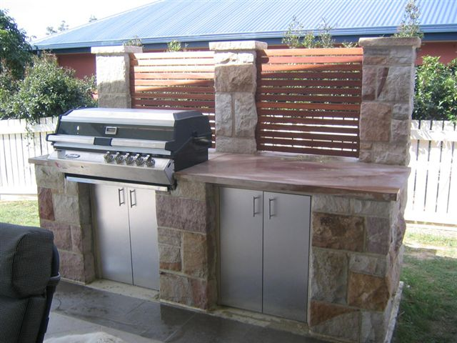 outdoor kitchens brisbane outdoor stone barbeques