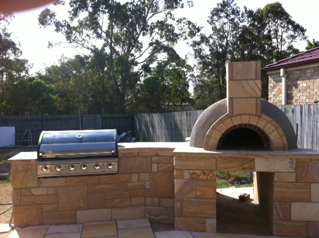 pizza-oven-8jpg - Wood Fired Pizza Ovens Brisbane 0406 50 60 70 Stone Outdoor Wood
